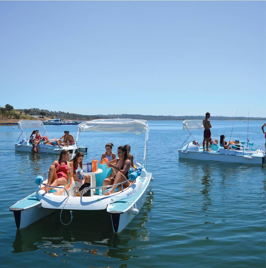 Barcos<br>Elétricos