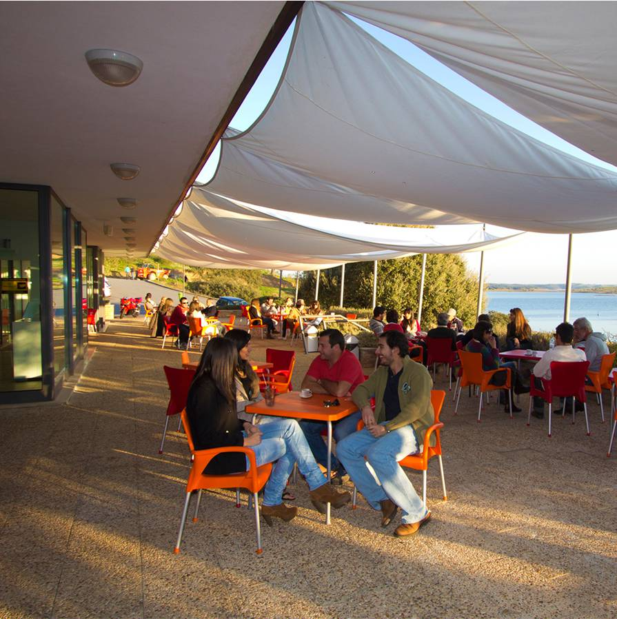 Cafetería<br>terraza