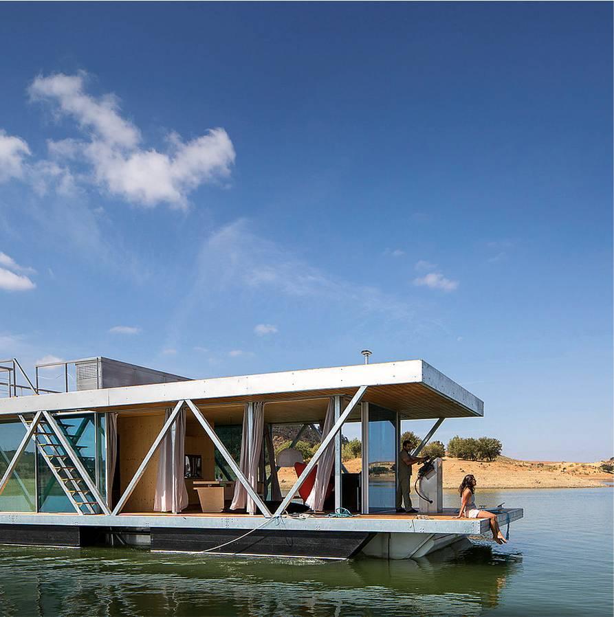 Casas<br>flotantes